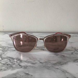 Women's Clear Blush Flexible Sunglasses